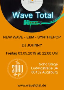 Wave Total Party goes Soho Stage Flyer
